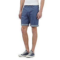 Red Herring - Blue five pocket shorts