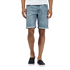 Red Herring - Light blue light wash denim shorts