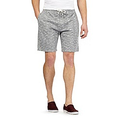 Red Herring - Grey textured jersey shorts