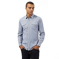 Red Herring - Blue gingham checked print shirt