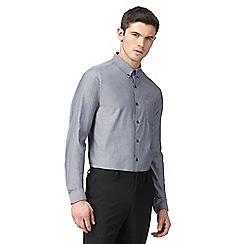 Red Herring - Grey printed slim fit shirt