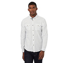 Red Herring - White stripe button-down shirt