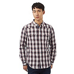 Red Herring - Red checked print western shirt