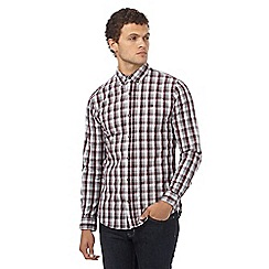 Red Herring - Red check print gingham shirt