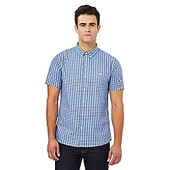Red Herring - Blue gingham print slim fit shirt