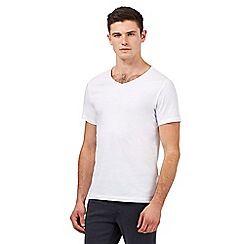 Red Herring - White basic V-neck t-shirt