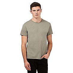 Red Herring - Khaki crew neck t-shirt