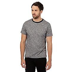 Red Herring - Black feeder striped print t-shirt