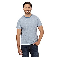 Red Herring - Blue feeder striped print t-shirt