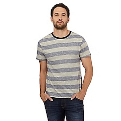 Red Herring - Khaki striped print t-shirt
