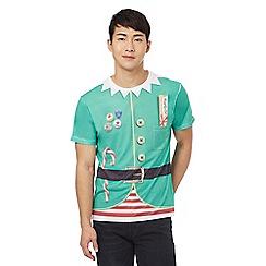 Red Herring - Green elf t-shirt
