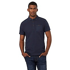 Red Herring - Navy patch pocket polo shirt