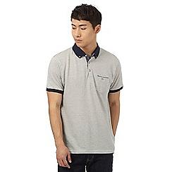 Red Herring - Cream texture pindot polo shirt