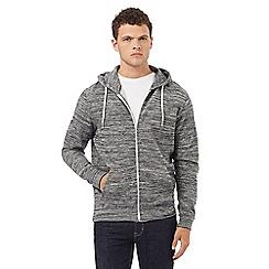Red Herring - Grey space dye hoodie