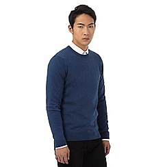 Red Herring - Big and tall blue crew neck jumper
