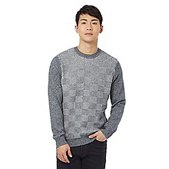 Red Herring - Grey marl knit jumper
