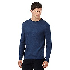 Red Herring - Blue twist textured jumper