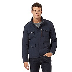 Red Herring - Navy zip through jacket