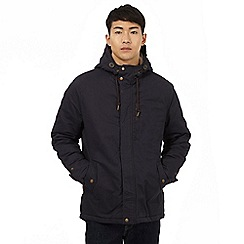 Red Herring - Navy quilted parka