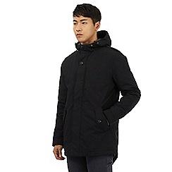 Red Herring - Black hooded coat