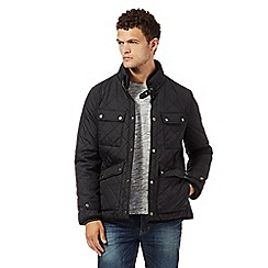Red Herring - Black quilted jacket