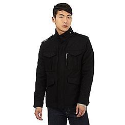 Red Herring - Black wool blend jacket