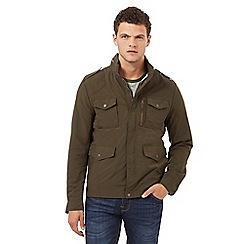 Red Herring - Khaki zip through jacket