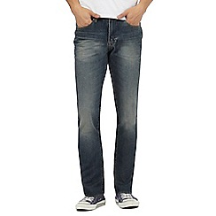 Red Herring - Blue vintage wash regular fit jeans