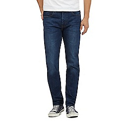 Red Herring - Mid blue mid wash slim fit jeans