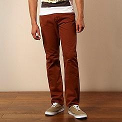 Red Herring - Terracotta slim leg jeans