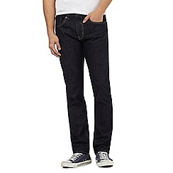 Red Herring - Big and tall navy rinse wash slim fit jeans