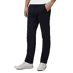 Red Herring - Big and tall navy skinny chinos