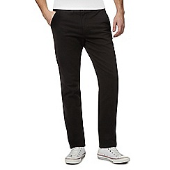 Red Herring - Big and tall black skinny chinos