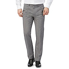 Red Herring - Grey slim check print trousers