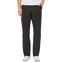 Red Herring - Black straight leg chinos