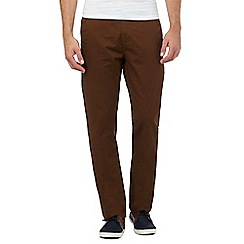 Red Herring - Dark brown slim fit chinos