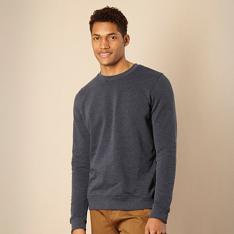 Red Herring - Navy crew neck sweatshirt