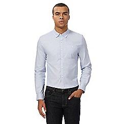 Red Herring - Light blue button down Oxford shirt