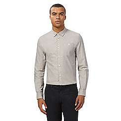 Red Herring - Grey button down Oxford shirt