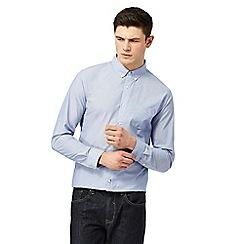 Red Herring - Blue stripe button down shirt