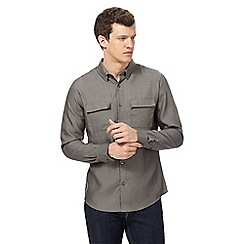 Red Herring - Khaki long sleeved regular fit shirt