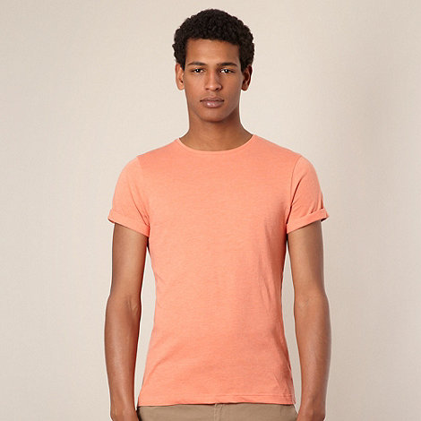 Red Herring - Orange roll sleeve t-shirt