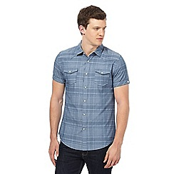 Red Herring - Blue checked shirt