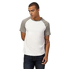 Red Herring - Grey raglan t-shirt