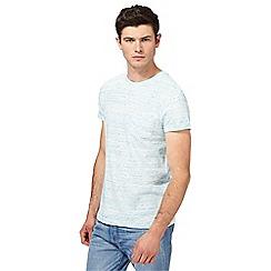 Red Herring - Turquoise space dye pocket t-shirt