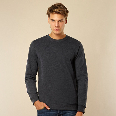 Red Herring - Navy plain sweatshirt