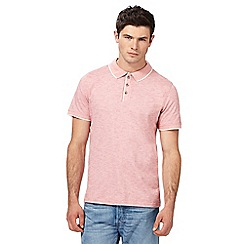 Red Herring - Red tipped polo shirt