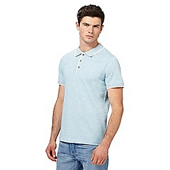 Red Herring - Turquoise tipped polo shirt