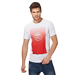 Red Herring - White 'New York' print t-shirt