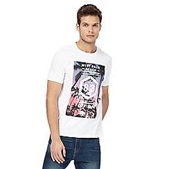 Red Herring - White graphic print t-shirt